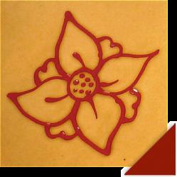 Création Fleur Rouge