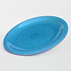 Assiette Plate Ronde - Couleurs Unies